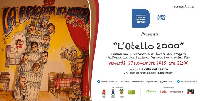 "AIDP PISA Presenta ""L'Otello 2000"""