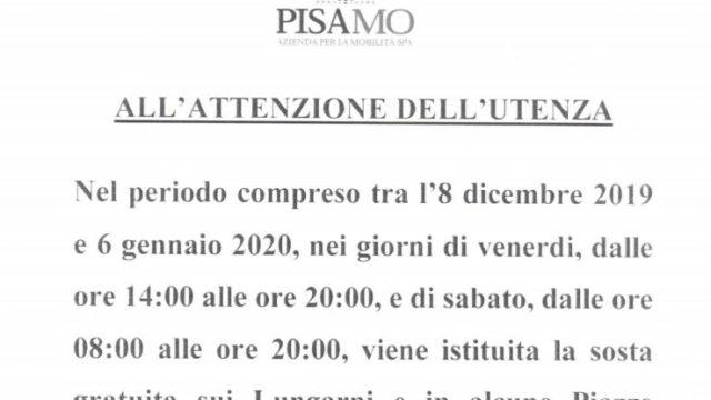 (Italiano) Dove pargheggiare gratuitamente durante le festività